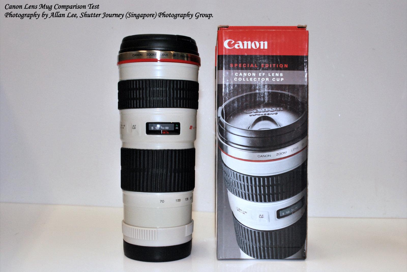 Canon lens mug 70 200mm f4l 1 1 how real shutter for Canon photo lens mug