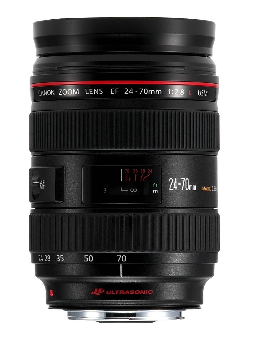 My pick will be the EF 24-70mm