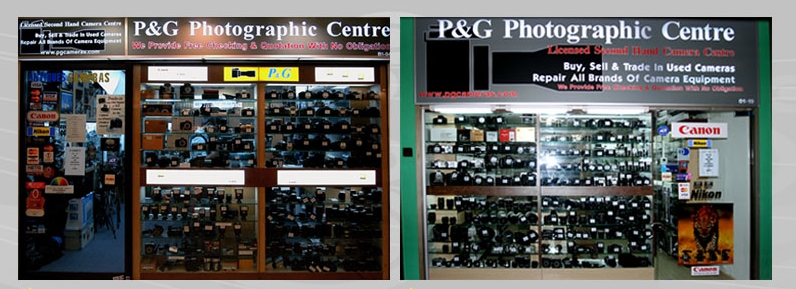 P & G Photographic Centre – Service with a Personal Touch