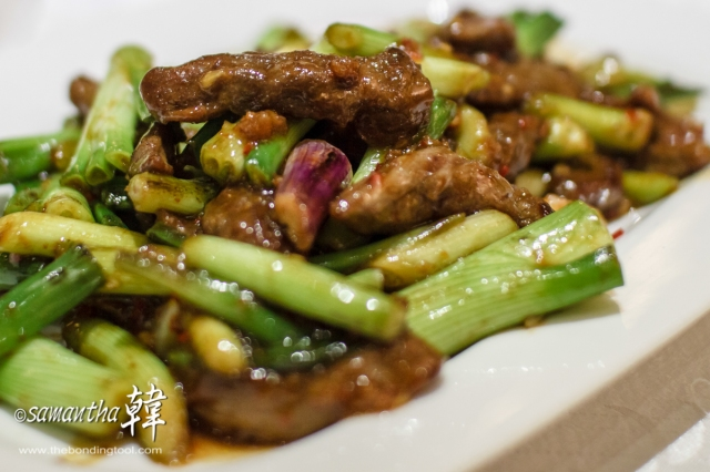 Chinese Cuisine - Beef with Spicy Sauce-9321