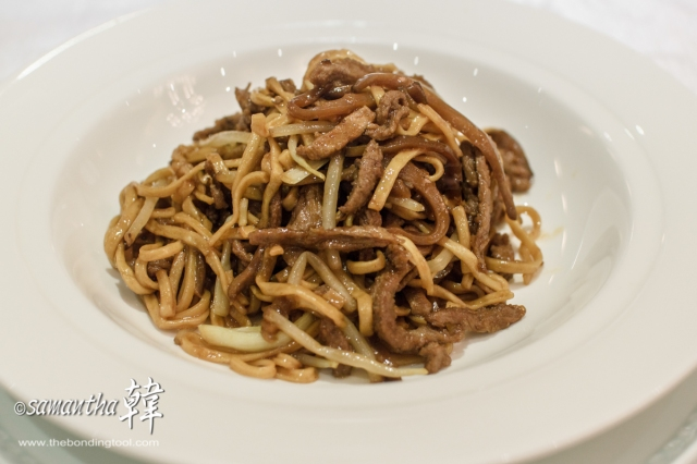 Chinese Cuisine - Braised Ee Fu Noodles with Peking Duck Meat-9332