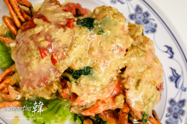 Chinese Cuisine - Butter Cream Crabs-6495