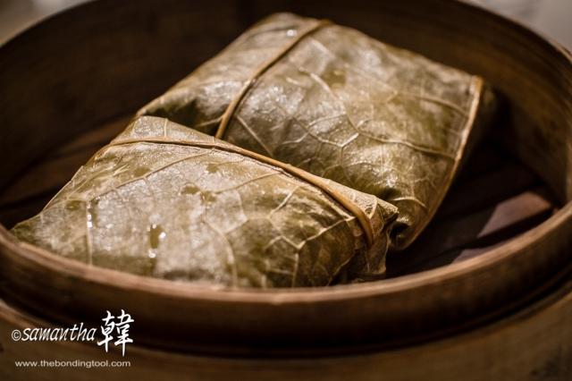 Chinese Cuisine Dim Sum - Glutinous Rice Parcel-6939