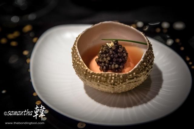 French Cuisine - Le Caviar Impe¦ürial Golden Osetra-0231