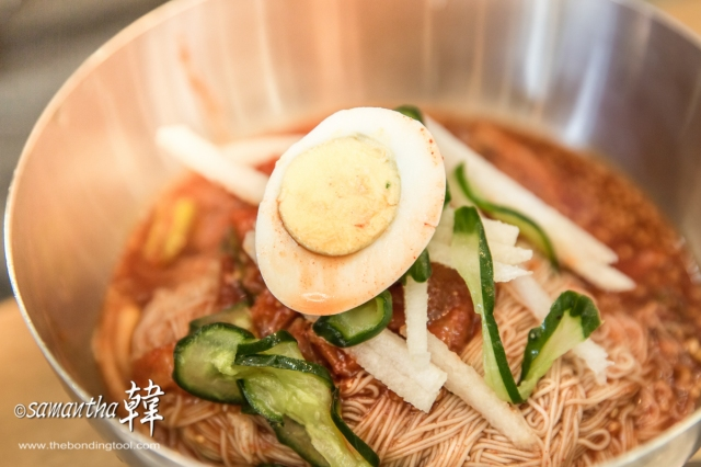 Korean Cuisine - Naengmyeon ßäéßàóßå+ßäåßàºßå½ -7027