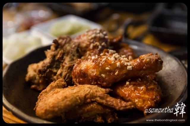 Korean Cuisine - Oven Chicken-8433a