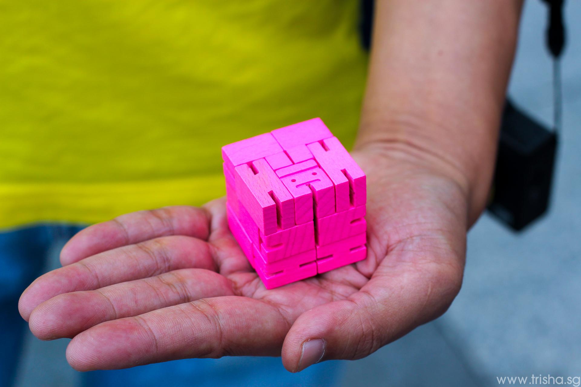 Toyart Cubebot Areaware Shutter Journey Singapore
