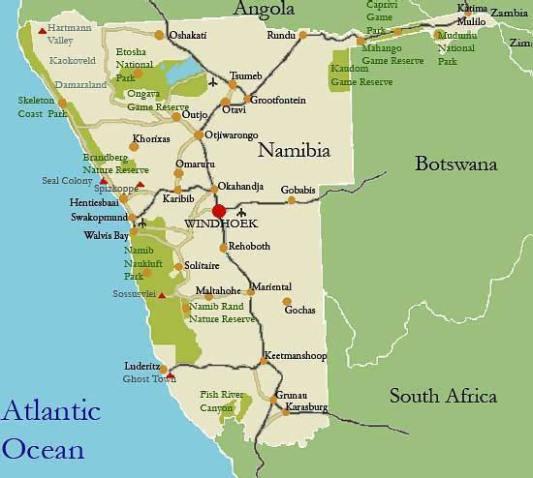 Namibia_Map
