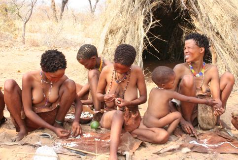san-artisans-in-grashoek-namibia earthpeoples d org
