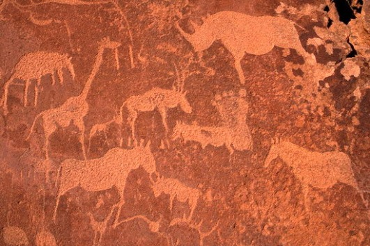 Twyfelfontein engravings  ezakwantu d com